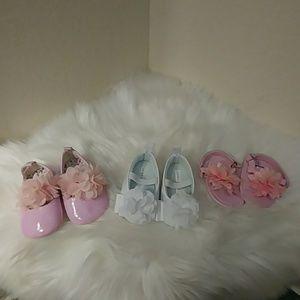 Baby Girl Shoe Bundle- Size 2